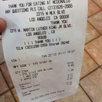 Photo taken at McDonald's by Arthur D. on 2/22/2013