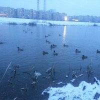 Снимок сделан в Троєщинський канал пользователем Владимир К. 3/10/2013