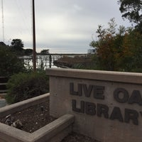 Photo taken at Live Oak Branch Library by Athonia C. on 12/13/2016