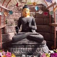 Photo taken at Land of Medicine Buddha by Athonia C. on 11/15/2015