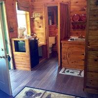 Photo taken at Pine Crest Motel & Cabins by Tara R. on 7/12/2013