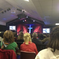 Photo taken at Family Harvest Church by Paul S. on 4/4/2013