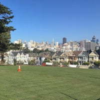 Photo taken at Alamo Square Dog Park by Andreea C. on 10/27/2016
