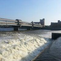 Photo taken at Cedar River by Adam A. on 7/10/2013