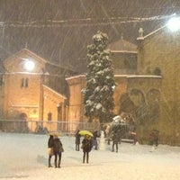 Photo taken at Piazza Santo Stefano by Disegni D. on 2/23/2013