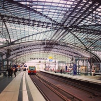 Photo taken at Berlin Central Station by Елена Е. on 9/24/2013
