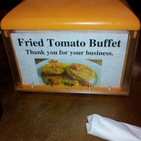 Photo taken at Fried Tomato Buffet by Richo B. on 1/28/2013