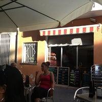 Photo taken at Bar La Bota by Mercedes on 8/4/2013