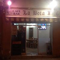 Photo taken at Bar La Bota by Mercedes on 9/4/2013