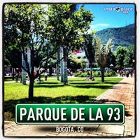 Photo taken at Parque de la 93 by Rosemberg G. on 5/12/2013