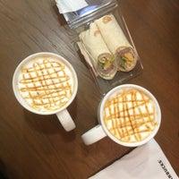 Photo taken at Starbucks by Зиночка А. on 2/16/2013