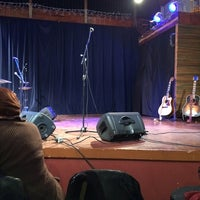Photo taken at Acorn Theater by Chris W. on 4/3/2014