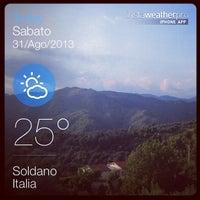 Photo taken at Soldano by Matteo C. on 8/31/2013