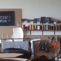 Photo taken at Detroit Denim Co. by Gretchen M. on 4/19/2013