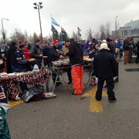 Photo taken at Chicago Bears Ultimate Tailgate by T-Money on 12/29/2013
