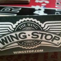Photo taken at Wingstop by Ara T. on 1/31/2013