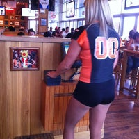 Photo taken at Hooters by Miguel B. on 7/1/2013
