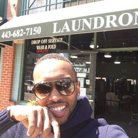 Photo taken at Federal Hill Laundromat by Nicholas C. on 4/21/2014