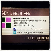 Photo taken at The DC Center for the LGBT Community by Ted E. on 10/22/2013