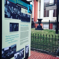 Photo taken at Mary McLeod Bethune House by Ted E. on 3/8/2016