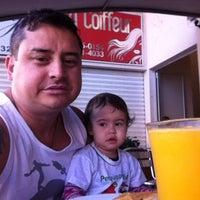 Photo taken at Padaria Caravelas by Simey S. on 8/8/2013
