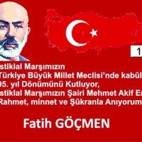 Photo taken at Göçmen Eğitim Kurumları by Fth G. on 3/12/2016