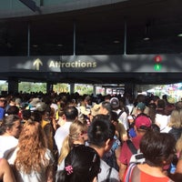 Photo taken at Universal CityWalk Security Checkpoint by Matthew P. on 7/6/2014