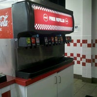 Photo taken at Five Guys by Rickie C. on 1/6/2013