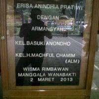 Photo taken at Rimbawan 1 Gedung Manggala Wanabakti by Widianto N. on 3/2/2013