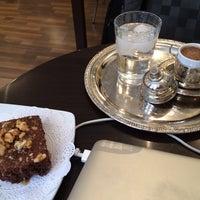 Photo taken at Senem's Coffee & Tea House by OMAR on 4/5/2014