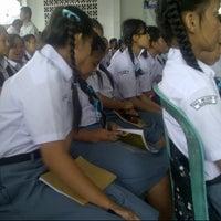 Photo taken at SMA 9 Binsus Manado by Monica V. on 7/16/2013