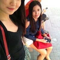 Photo taken at Bus Stop 53379 (Blk 245) by Liezl O. on 6/30/2013
