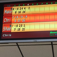 Photo taken at Buffaloe Lanes South Bowling Center by Chris B. on 7/26/2015