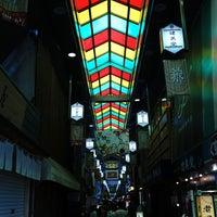 Photo taken at Nishiki Market by Tomoyuki U. on 6/16/2013