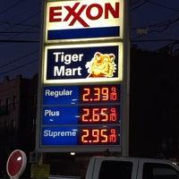 Photo taken at Exxon by Eyleen O. on 1/4/2017