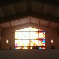 Photo taken at St. Justin Martyr Church by Jerrin T. on 2/5/2013