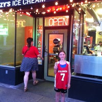 Photo taken at Izzy's Ice Cream Cafe by Sarah S. on 7/10/2013