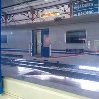 Photo taken at Stasiun Kroya by Prihandaru L. on 2/5/2017