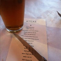 Photo taken at Atlas Global Bistro by T.J. on 4/23/2013