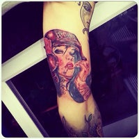 Photo taken at Rad Tattoo by Vadim H. on 5/13/2014