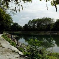 Photo taken at Embung Lampeyan by Tantri R. on 1/14/2014