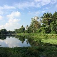 Photo taken at Embung Lampeyan by Tantri R. on 12/31/2015