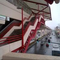 Photo taken at Metrorrey Estación Anáhuac by Phillip E. on 11/16/2012