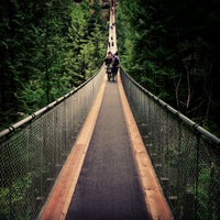 Photo taken at Capilano Suspension Bridge by Bryden M. on 4/17/2013