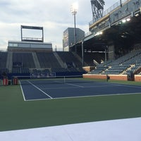 Photo taken at Practice Court 6 / Old Grandstand - USTA Billie Jean King National Tennis Center by Nicole C. on 6/17/2016