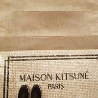 Photo taken at MAISON KITSUNÉ by jenney k. on 1/14/2018