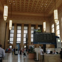 Photo taken at 30th Street Station (ZFV) by Thomas R. on 5/30/2013