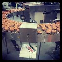 Photo taken at Krispy Kreme Doughnuts by Frank S. on 3/8/2013