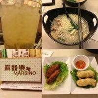 Photo taken at Marsino 麻酸樂 by KLing💋 J. on 8/11/2013