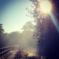 Photo taken at The Burrs Country Park by Jakub S. on 11/10/2013